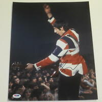 PETE TOWNSHEND SIGNED 11X14 PHOTO THE WHO AUTHENTIC AUTOGRAPH PSA/DNA COA D