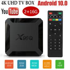 2020 X96Q Android 10.0 Smart TV Box Quad Core Cortex A53 4K 1080P 3D Player H5C6