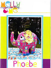 PATTERN - Phoebe - fabulous elephant softie PATTERN by Melly and Me