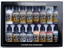 Vallejo Farben Model Air Alterungsset 100 513 Airbrush Farbe Modellbau
