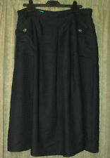 Skirt Size 14 linen and viscose by CANDA, dark purple, very good condition
