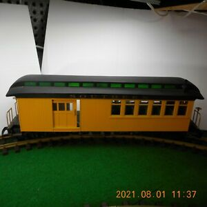 BACHMANN G SCALE 'SOUTHERN' COMBINE PASSENGER/FREIGHT CAR