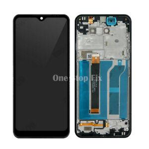 For LG K51 K500 K500UM LCD Display Touch Screen Digitizer + Frame New 2 Colors