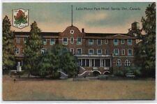 LAKE HURON PARK HOTEL~SARNIA,ONTARIO CANADA POSTCARD