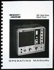 EICO Model 150 Solid State Signal Tracer Instruction Manual
