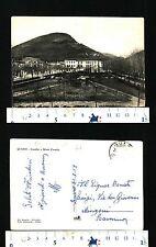 QUERO (BL) - GIARDINI E MONTE CORNELLA -ANNO 1957 - BEN CONSERVATA - 29723