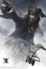 Jonny Depp ++Autogramm++ ++Fluch der Karibik++3