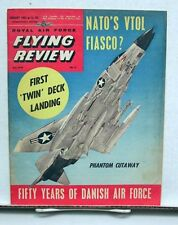 Jan 1962 ROYAL AIR FORCE FLYING REVIEW Magazine