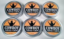 NEW 6 Pack Western Rodeo Cowboy Cowgirl Coffee Chew Tobacco Energy Copenhagen