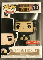 Funko pop american history abraham lincoln figura figure exclusive toy toys