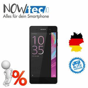 Sony Xperia E5 - 16GB - Graphite Black (Ohne Simlock) Smartphone WIE NEU