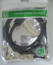 UGREEN~10242~Displayport to DVI 24+1 Male to Male Cable Supports 1080p 60Hz