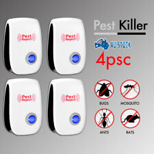 4x Mouse Mosquito Pest Repeller Electronic Insect Control Rat Reject Ultrasonic