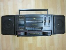 JVC PC-V66 Ghettoblaster Boombox 3D Hyper Bass 5Band EQ Full Reverse Tape Deck