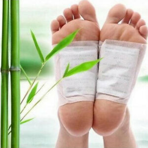 10X Detox Foot Pad Patches Remove Harmful Body Toxins Sleep Herbal Cleanse #A05