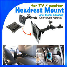 Simple lift-off type short length Headrest Mount for TV monitor mount VESA Plate
