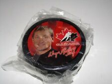 2002 Team Canada McDonald's Olympic Hockey Puck Wayne Gretzky - NEW