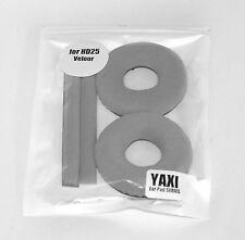 High quality Grey Velour pads for sennheiser HD25-1 by YAXI HD25 mk II