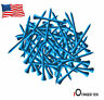 """Wood Golf Tees Pro Length Blue 2 3/4"""" Or 3 1/4"""" 100 Count Height Marker Outdoor"""