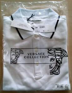 Versace Poloshirt Medusa Größe XL neu original verpackt Farbe: weiss