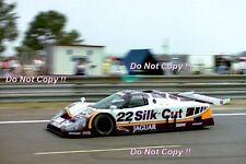 Daly & Cogan & Perkins Silk Cut Jaguar XJR9 LM Le Mans 1988 Photograph 2