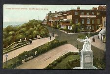 C1910 View of the Royal Hotel & Queen Victoria Statue, Southend-on-Sea.