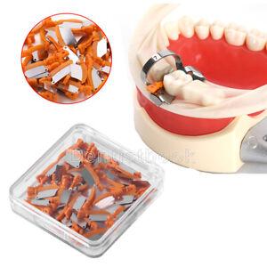 50 Piece Dental Prime Teeth Interproximal Wedge W/Protection Steel Matrix Medium