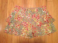 Nishe Floral Shorts Size 4 US 8 UK 36 EUR