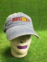 Vtg. RFD TV Embroidered Denim Baseball Hat Cap Strapback Fast Free Shipping