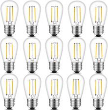 Led Edison Light Bulbs String Light Replacement Medium Screw Base Nondimmable