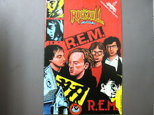 Rem comic Rock n' Roll Comics 1991 First Printing R.E.M. !