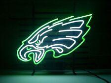 """Brand New Philadelphia Eagles Logo Banner Beer Bar Pub Neon Light Sign 17""""x14"""""""