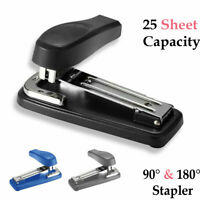 Heavy Duty Stapler Metal Staple Capacity Document 25 Sheet Office Desktop Desk