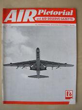 AIR PICTORIAL MAGAZINE JUNE 1957 CONVAIR B-36 BOMBER