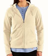 Carhartt Boyne Soft Fleece Jacket - Zip Front / Hooded - Women Medium ( 8/10 )