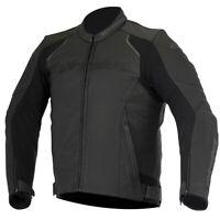 Devon Airflow Perforated Leather MC Jacket Alpinestars 3102116-10-46 Black 46