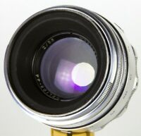 Helios-44 58mm 50mm f/2 Zenit lens M39 M42 biotar Canon Silver KMZ 13 blades