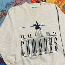 Dallas Cowboys Sweatshirt Pullover Adult Medium NFL Football Starter Gray