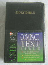 Compact Text Bible New King James Version Nelson