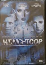Midnight Cop (DVD, 1989, 2004)  Morgan Fairchild Frank Stallone Rare Thriller