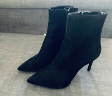 Banana Republic Suede High Heeled Ankle Boots (MAGDA) Size 7 Orig $168 New