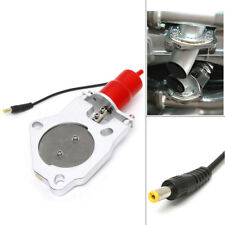 "3"" Electric Exhaust Muffler Control Valve Cutout System Motor Dump Remote DC 12V"