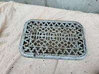 Antique Cast iron Radiator topper Cover  13 1/2 x 9 x 3 1/2""
