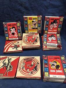 lot vintage 8mm movies chaplin betty boop popeye laurel & hardy our gang cartoon