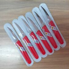 6 PCx KIWI-STAINLESS-THAI-CARVING-KNIFE-FRUITS-VEGETABLE SOAP FREE SHIPPING