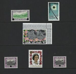 Cook Islands Mint  Surcharge and Overprint Selection