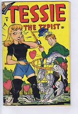 Tessie the Typist #9 Timely Pub. 1947 Wolverton- Art
