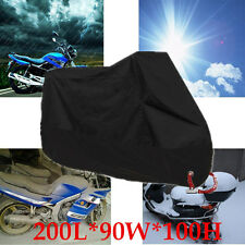 Medium M Motorcycle Cover Waterproof Outdoor Rain UV Scooter Motorbike Protector