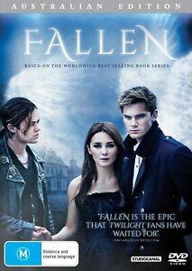 Fallen DVD 2016 Addison Timlin Jeremy Irvine - Based on Novel by Lauren Kate