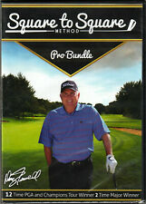 Square To Square Method Pro Bundle of Golfing Tips on a 4 Dvd Video Doug Tewell!
